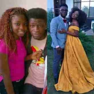 Throwback Photo Of Comedian Dr. Craze Clown And His Girlfriend Of Many Years